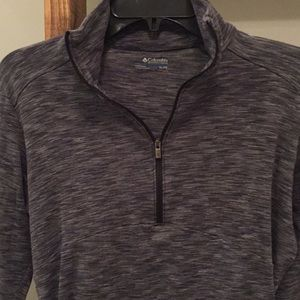 Columbia 1/4 Zip Athletic Pullover Top
